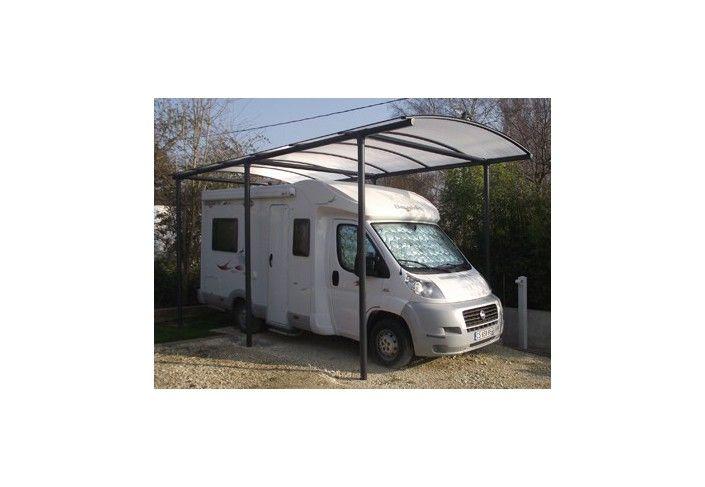 abri camping car métallique toit rond