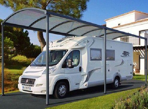 abri camping car métal aluminium design