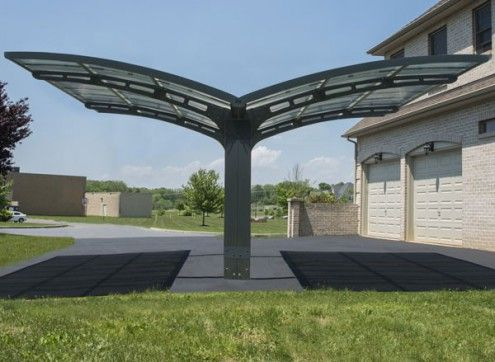 CARPORT DESIGN DOUBLE