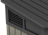 Coffre Brossium 2100L Gris et noir