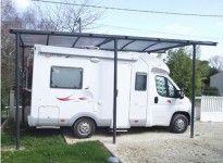 abri camping car métal toit berceau