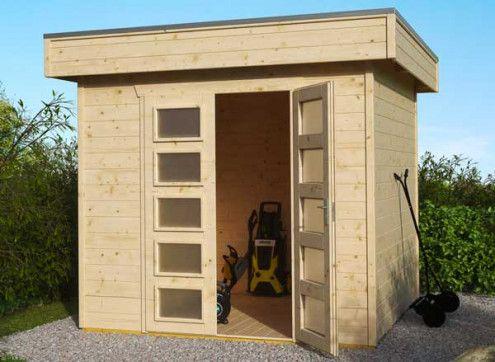 Abri jardin bois 28 mm