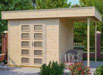 Abri jardin bois 28 mm - 12.18 m2