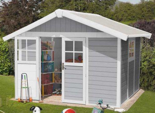 Abri jardin PVC DECO 7.5 : 3,15 x 2,39 m