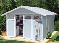 Abri jardin PVC utility 11 : 3,15 x 3,55 m