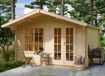 Abri jardin bois 45 mm avec plancher