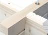 Abri jardin madriers 45 mm avec plancher