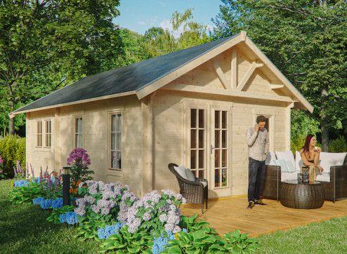 Chalet de jardin 45MM avec plancher