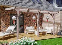 Toit terrasse en bois douglas L 4.34 M