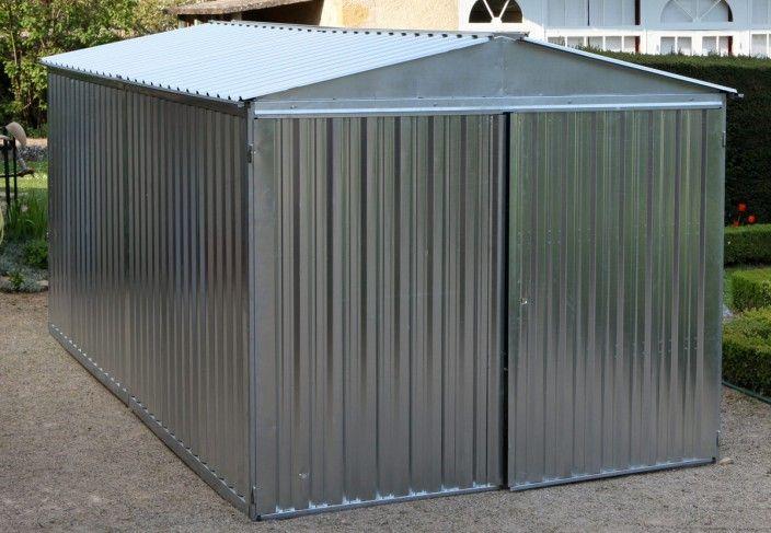 Garage au montage rapide 2,54 x 6 m