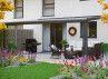 Toit terrasse adossé avec toit polycarbonate