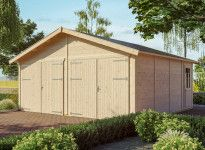 GARAGE DOUBLE EN BOIS 45 MM