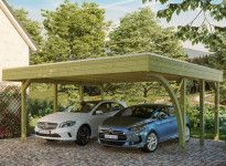 CARPORT DOUBLE 1 ARC 5.57 X 5.55 M