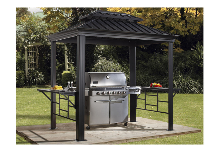 Abri barbecue de 5m2