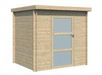 Abri bois moderne 4m2 ou 5m2