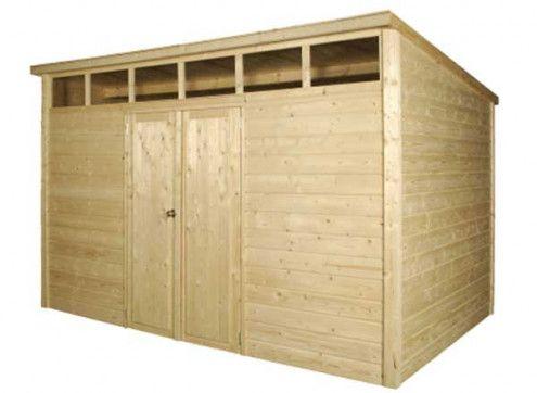 abri jardin bois 11m²