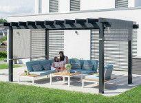 Tonnelle aluminium 15 m2
