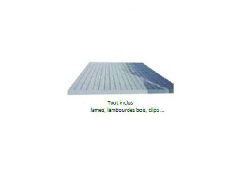 PACK TERRASSE 12 m² - OPTION VENDUE AVEC UN ABRI