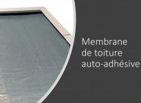 Option membrane auto-adhésive pour couvrir la toiture de votre abri bois - 5 rouleaux