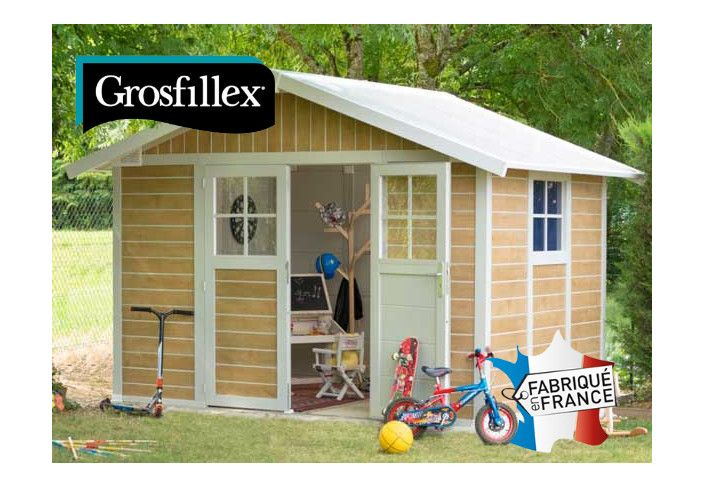 Abri PVC GROSFILLEX sherwood 7,5