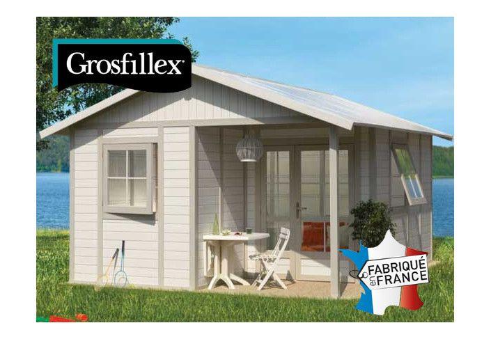 Abri jardin PVC DECO 20B GROSFILLEX : 4,03 x 4,93 m