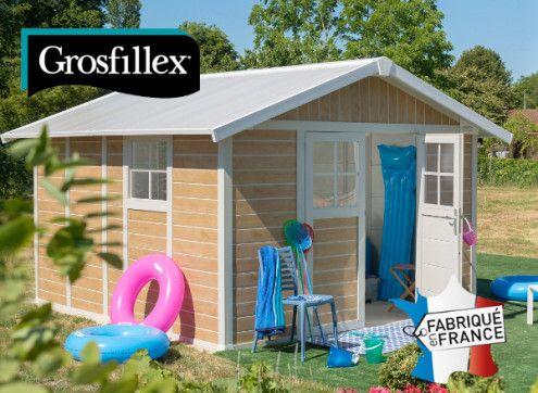 Abri de jardin PVC Grosfillex