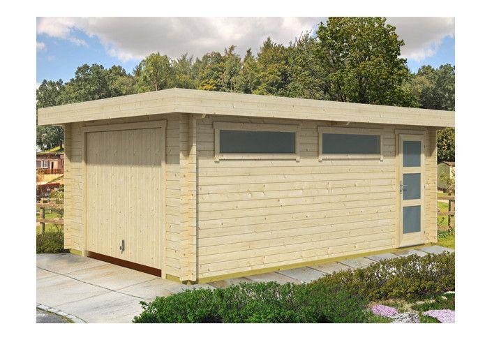 GARAGE bois 44 MM - 18 m2