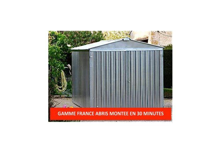 Garage metal france abris acier galvanisé