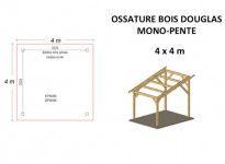 OSSATURE DOUGLAS MONOPENTE