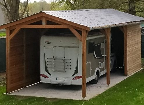 OSSATURE CAMPING-CAR TOIT 2 PANS 42 m2
