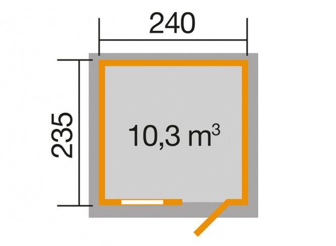 OPTION 240 x 235 cm