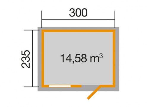 OPTION 300 x 235 cm