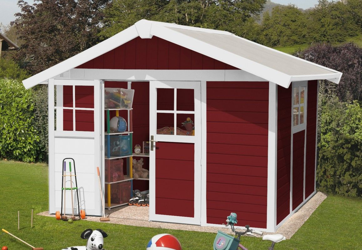 Abri jardin PVC, résine DECO 7,5 GROSFILLEX 3,15 x 2,39 m
