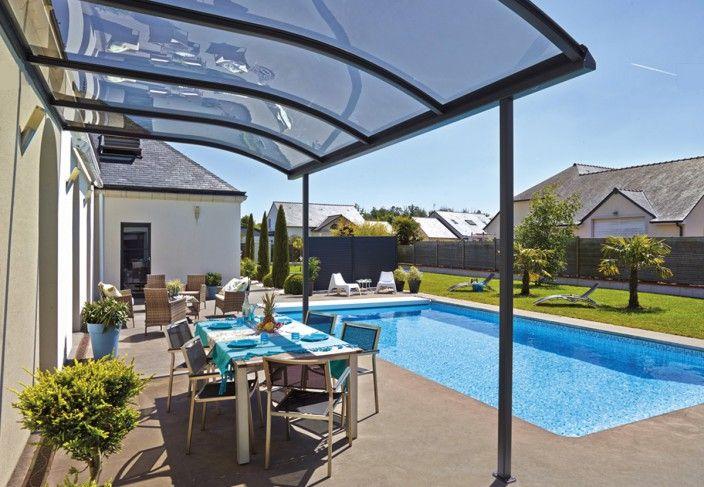 Abri terrasse design for Toit pour terrasse