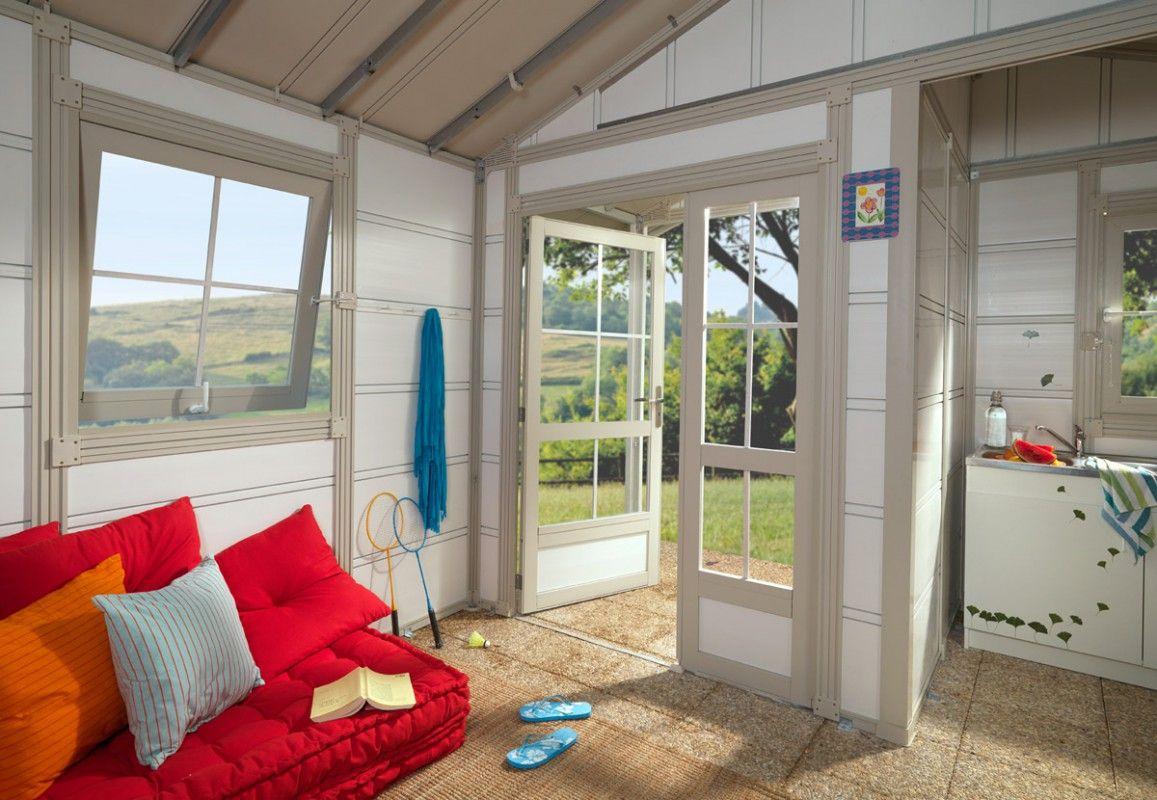abri jardin pvc deco 20b grosfillex 4 03 x 4 93 m. Black Bedroom Furniture Sets. Home Design Ideas