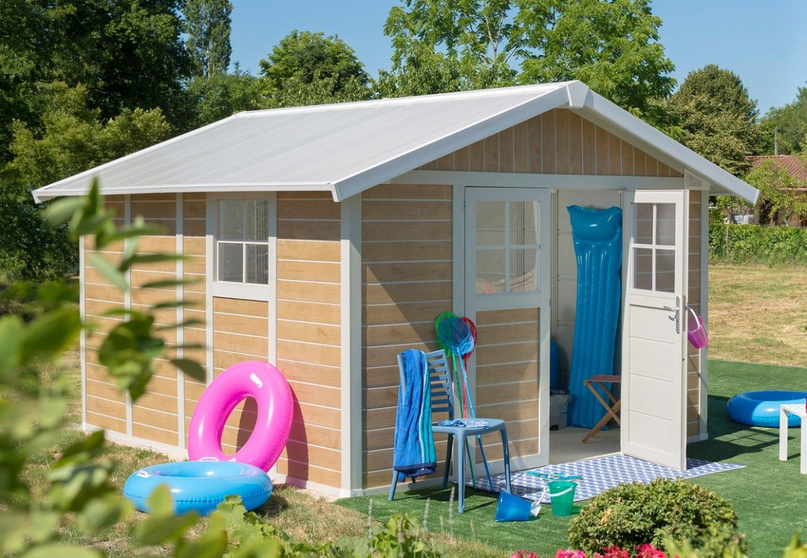 grosfillex abri de jardin pvc 11 m sherwood deco garden sheds grosfillex grosfillex deco 10x8. Black Bedroom Furniture Sets. Home Design Ideas