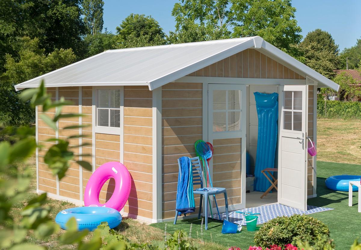 cabane en pvc finest beau cabanon de jardin pas cher a propos de cabane jardin abri de alu. Black Bedroom Furniture Sets. Home Design Ideas