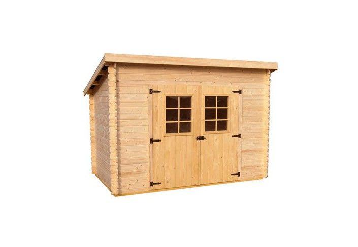 abri de jardin en bois monopente ABRI JARDIN BOIS 20 MM monopente