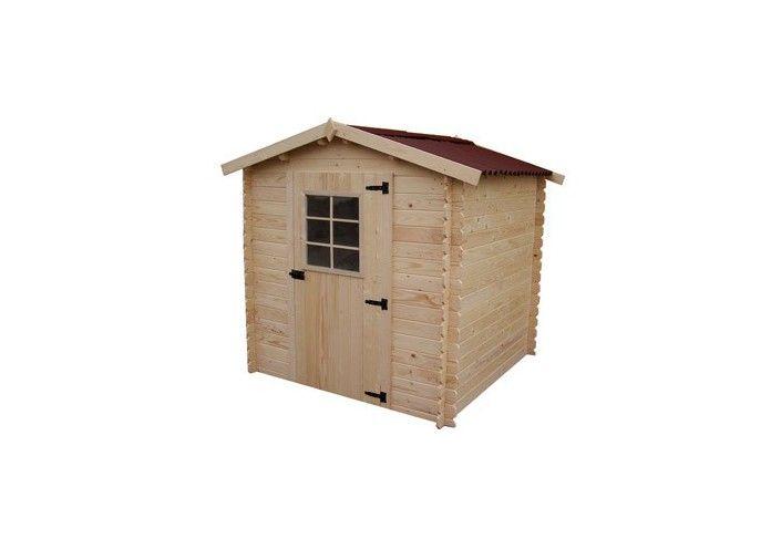 abri jardin bois madrier 28 mm