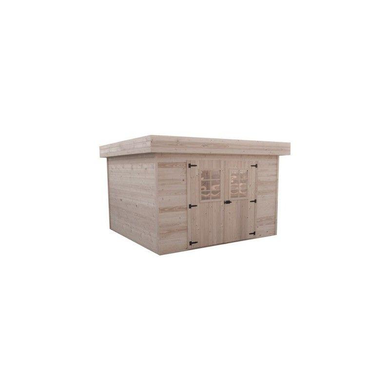 abri de jardin emboit 28mm 12m2. Black Bedroom Furniture Sets. Home Design Ideas