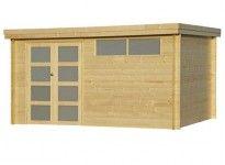 Abri de jardin en bois 28 mm - 14m²