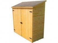 Abri de rangement en bois 1 m²