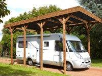 abri camping car bois traité autoclave