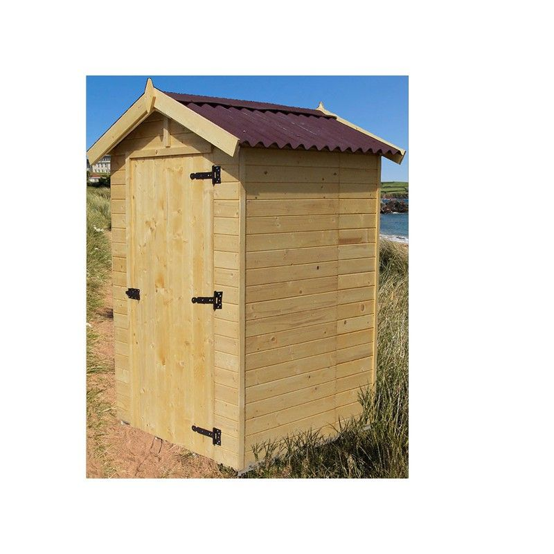 Abri en bois brut 16 mm avec plancher pas cher - Abri de jardin en bois avec plancher ...