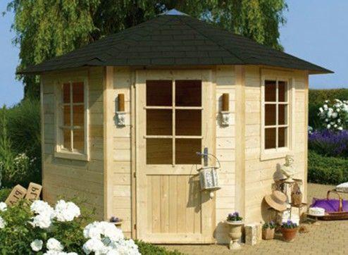 abri jardin bois 28 mm kiosque