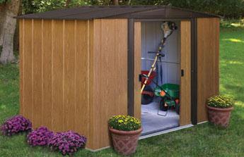 Abri de jardin ou garage, l'aménagement malin