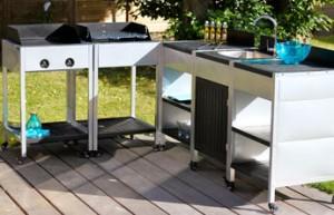 barbecue gaz inox grand meuble cuisine exterieur. 15 ides pour ... - Meuble Cuisine Modulable