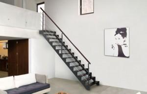 Transformer un simple escalier en l ment de d coration de votre maison c es - Hauteur d une main courante dans un escalier ...