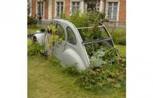 Voiture jardinière