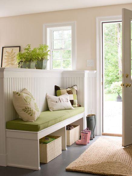 Faire de son entr e un espace chaleureux et accueillant for Entree maison interieur